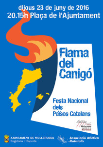 Cartell flama Canigó 1