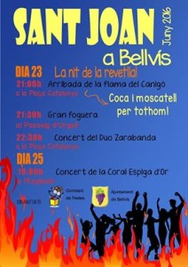 Cartell flama Canigó 2