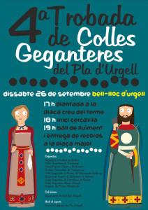 cartell trobada comarcal Bell-lloc