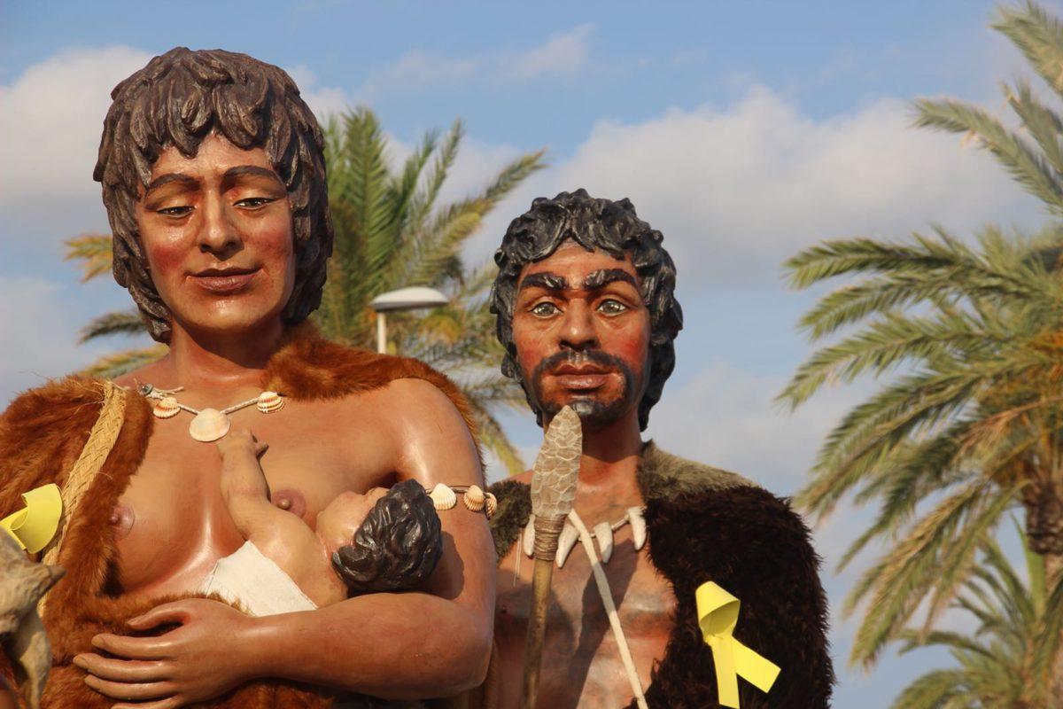 Rocafort de Queralt i Segur de Calafell reben els Gegants Neolítics de l'Espluga