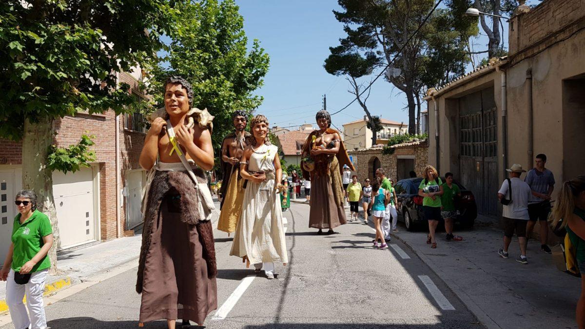 Actuació a la Trobada Gegantera de Sabadell