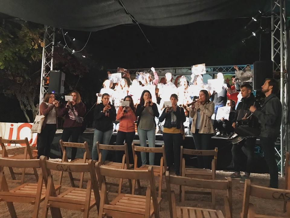 Els Grallers de l'Espluga se sumen a la commemoració de l'1 d'octubre