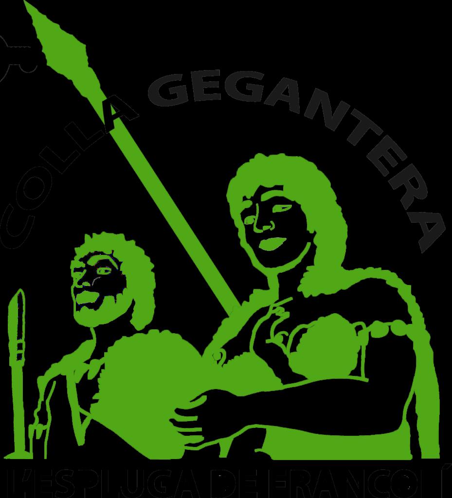 Logotip Colla Gegantera de l'Espluga