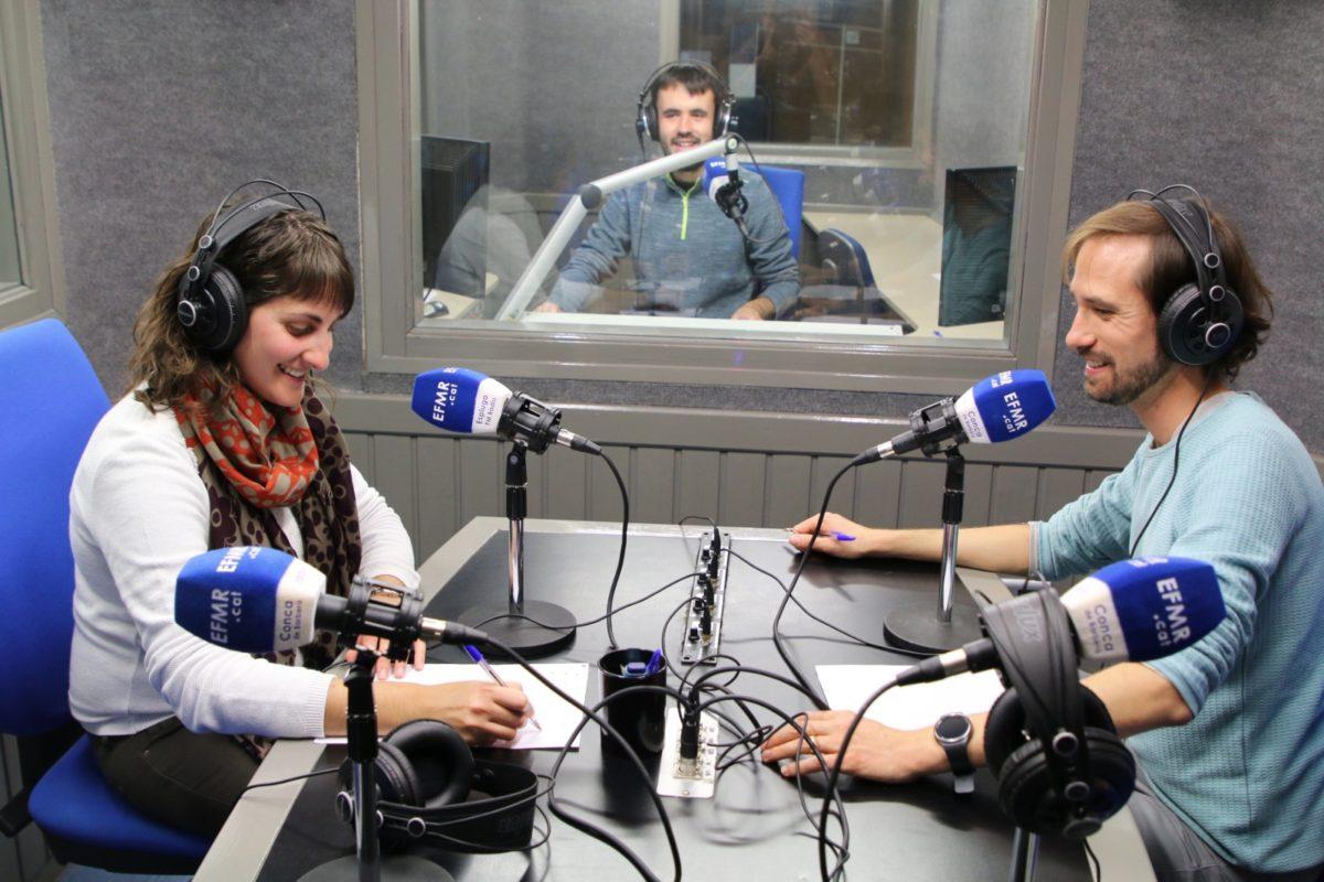 Presentació de la nova web al programa de cultura popular de l'Espluga FM Ràdio