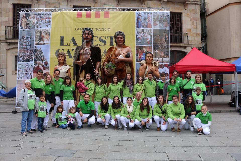 Actuació a la Plaça Nova de Barcelona
