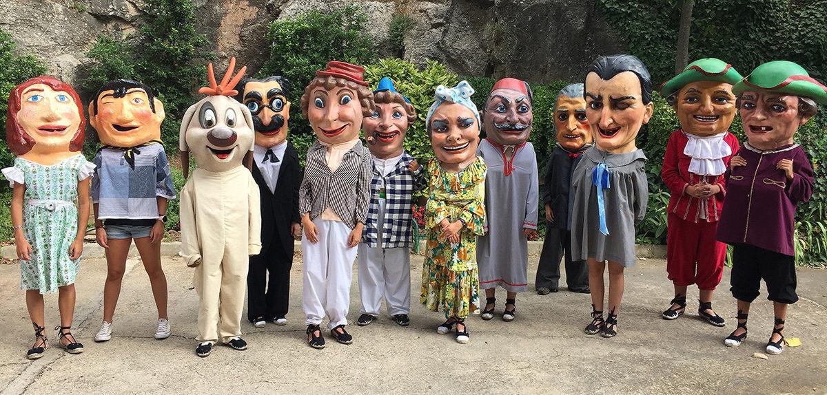 Els Nanos de l'Espluga aconsegueixen arribar a 12 persones portadores per la Festa Major