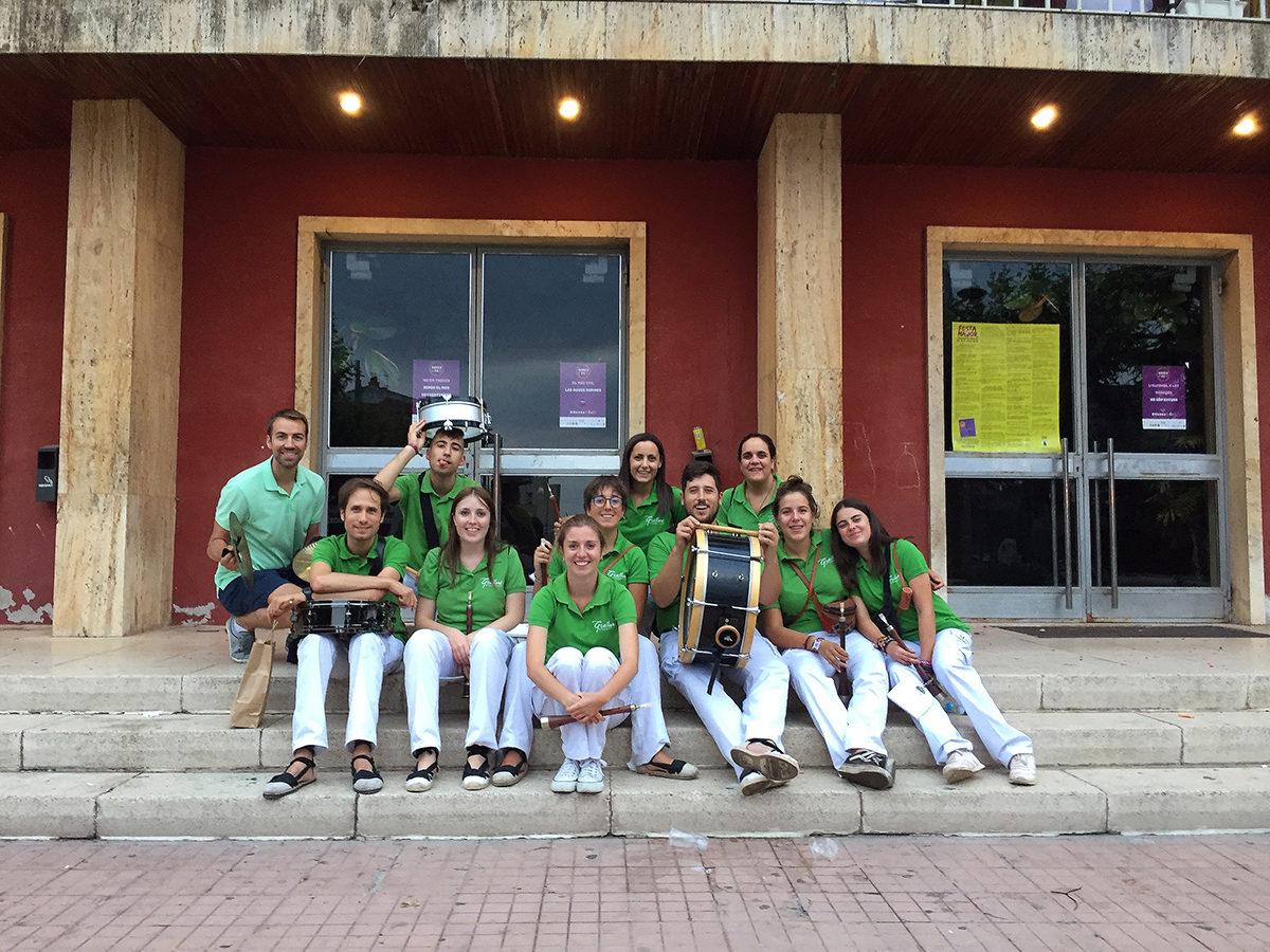 Els Grallers de l'Espluga viuen les Matinades de Festa Major més participatives