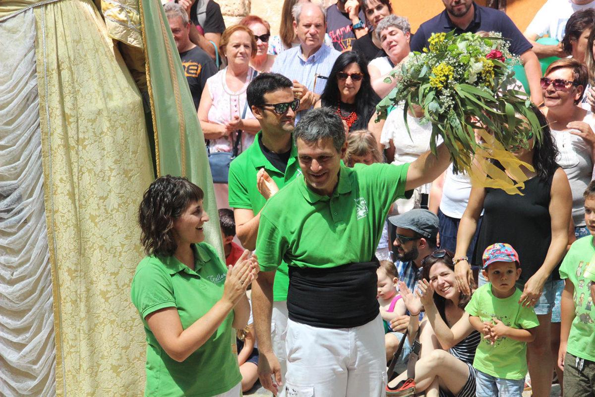 Jordi Batet, reconegut amb el Ram de la Geganta 2019