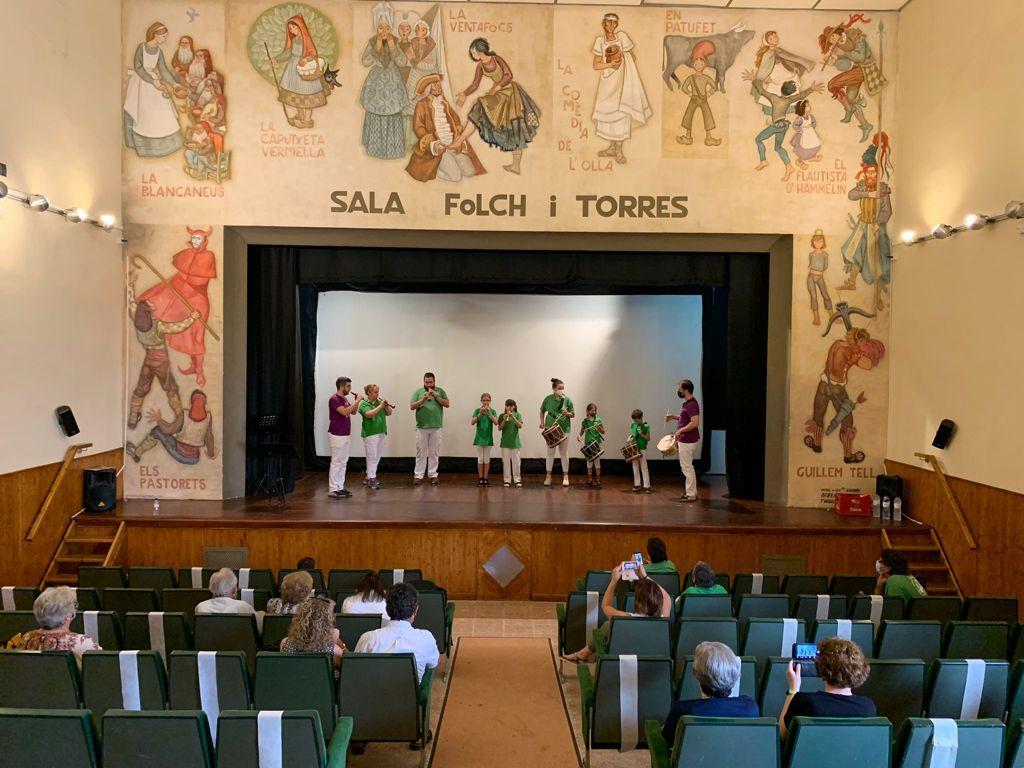 Concert de final de curs de l'alumnat de l'Escola de Gralla i Timbal