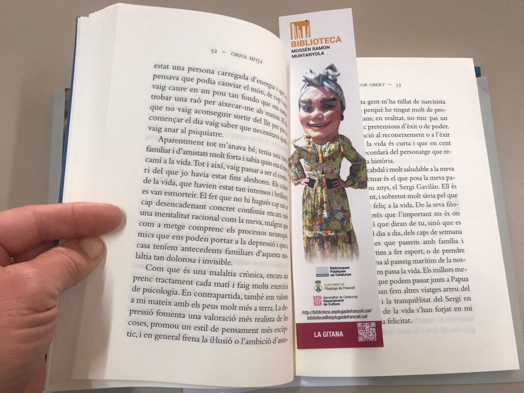 La Gitana protagonitza el nou punt de llibre de la Biblioteca Mn. Ramon Muntanyola