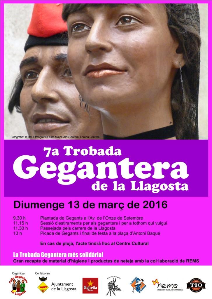 7a Trobada Gegantera la Llagosta 2016