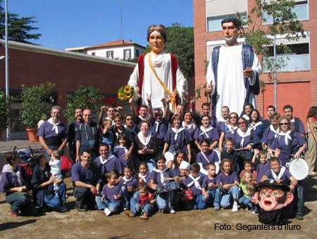 Proclamaciò de la Alarona com a Pubilla del Maresme 2005 - Alella