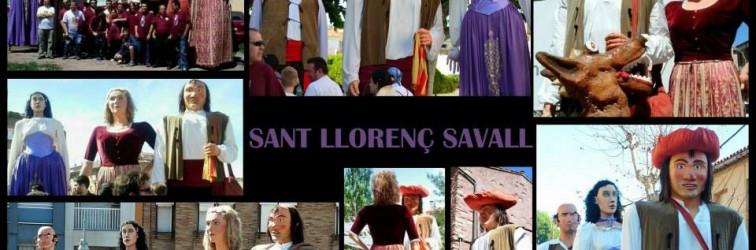 Gegants_Sant_Llorenç_Savall